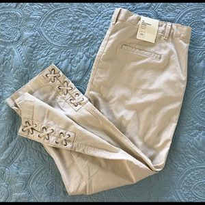 GAP Girlfriend Chino Mid-rise Stretch SZ-16 Beige